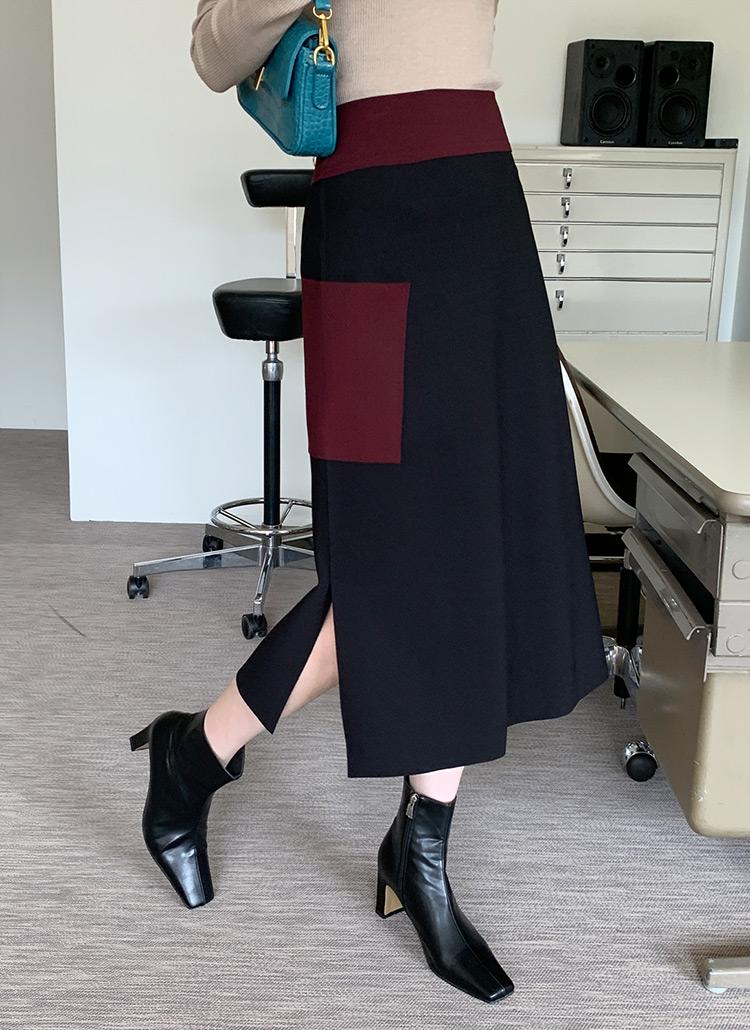 ビッグポケットフレアスカート・全3色
