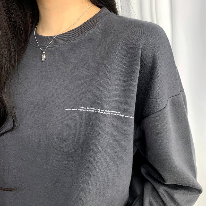 긴팔 티셔츠 모델 착용 이미지-S1L17