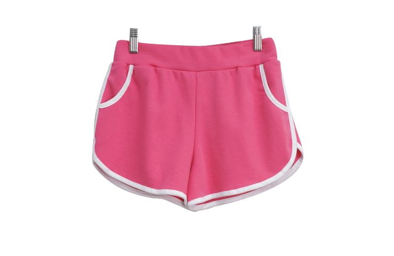 반바지 핑크 색상 이미지-S1L22