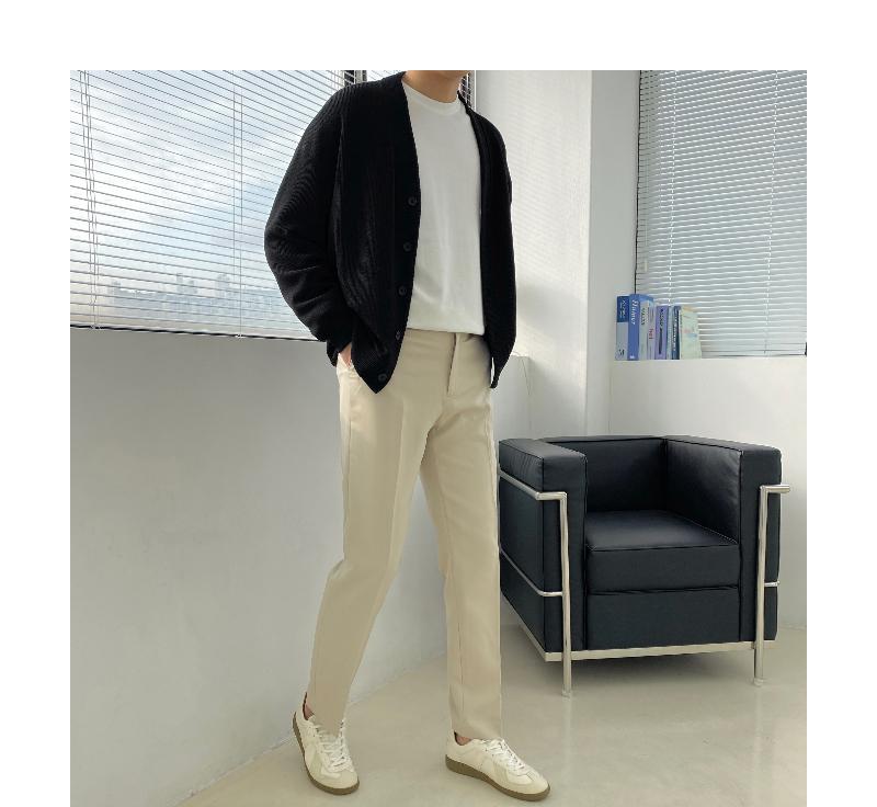 긴팔 티셔츠 모델 착용 이미지-S1L48