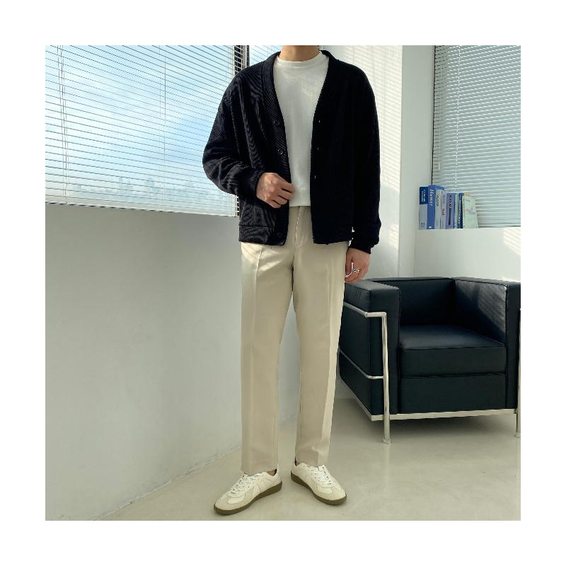 긴팔 티셔츠 모델 착용 이미지-S1L50